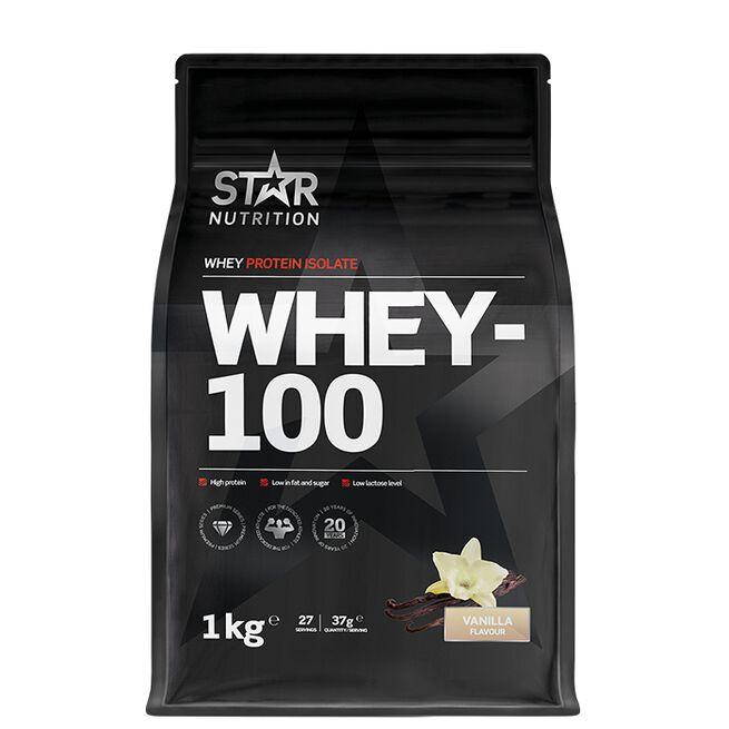 Star nutrition Whey-100 Vanilj Vanilla