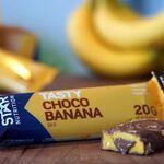 Star nutrition choco Banana protein bar mood