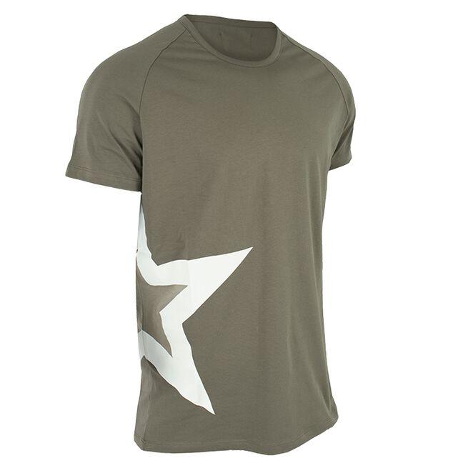 Star Nutrition Raglan T-shirt Star, Olive, M
