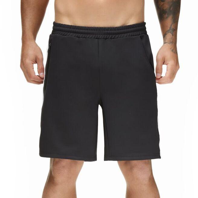 Star Gym Shorts, Black/White, S