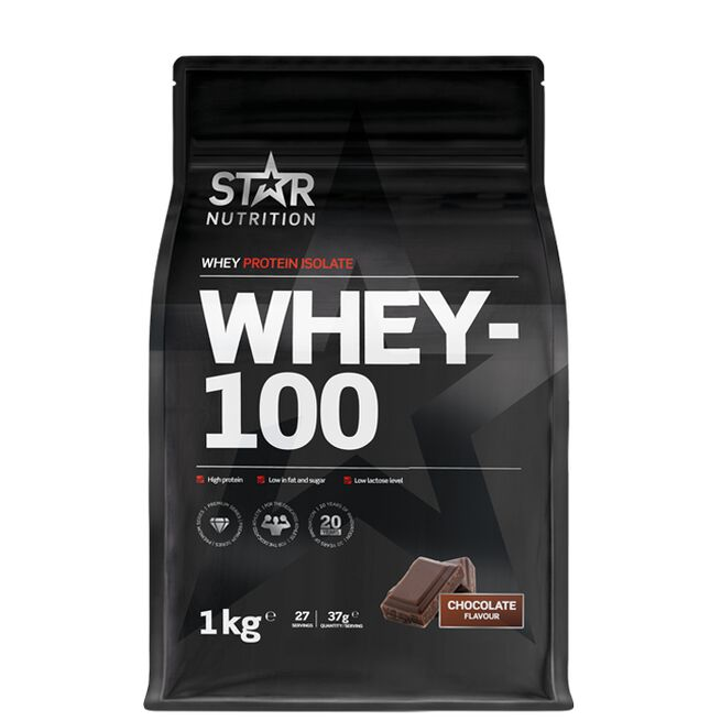 Star nutrition Whey-100 Chocolate