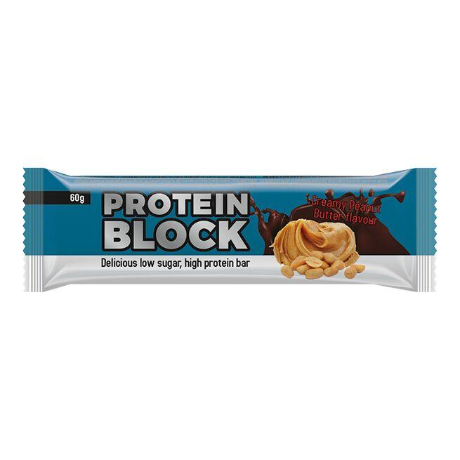 Protein Block, 60 g, Creamy Peanut