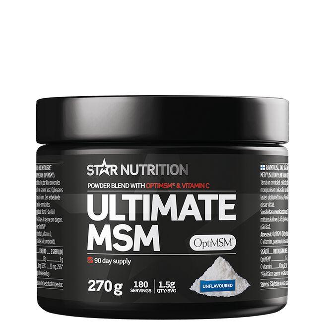 Star nutrition Ultimate MSM powder