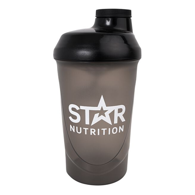 Star Nutrition Wave Shaker, Black, 600ml