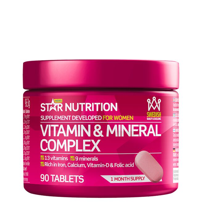 Star Nutrition Vitamin mineral complex hers
