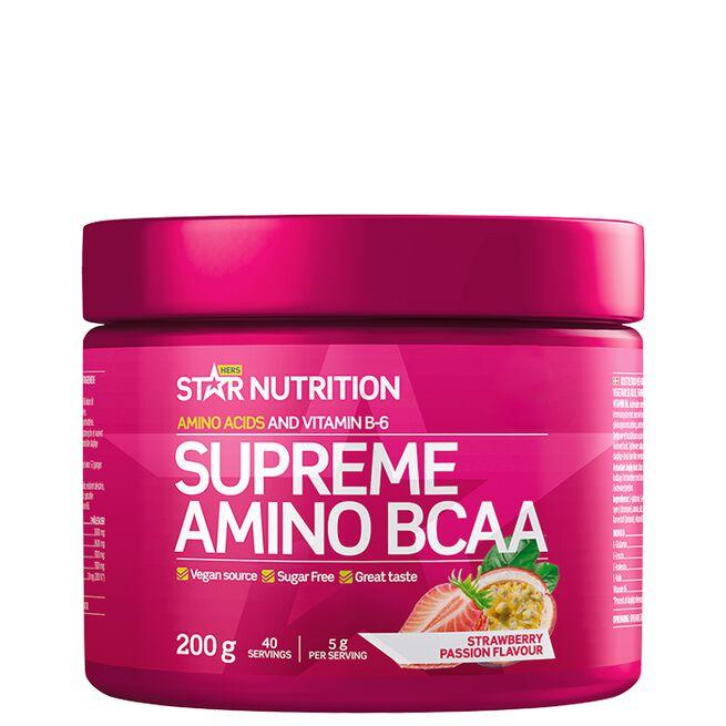 Supreme Amino BCAA 200g, Strawberry Passion
