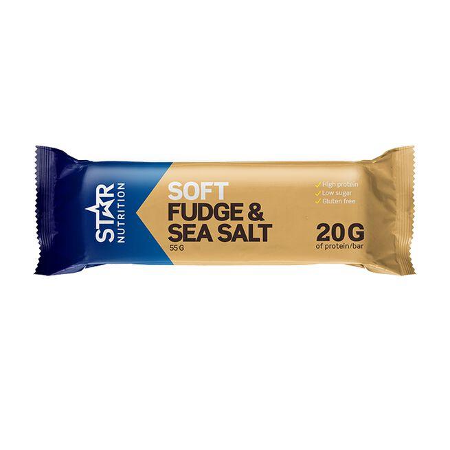 Star nutrition Fudge and sea salt protein bar