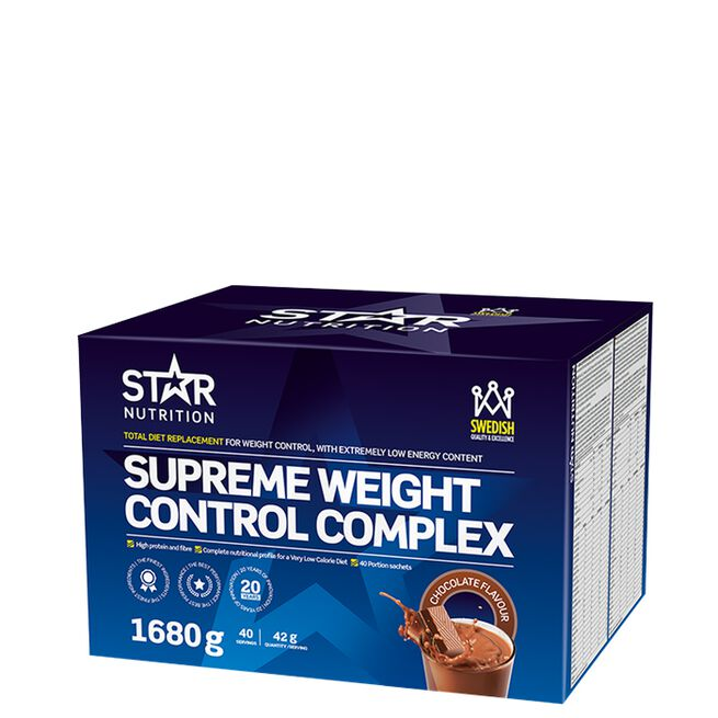 Star nutrition Supreme weight control chocolate choklad
