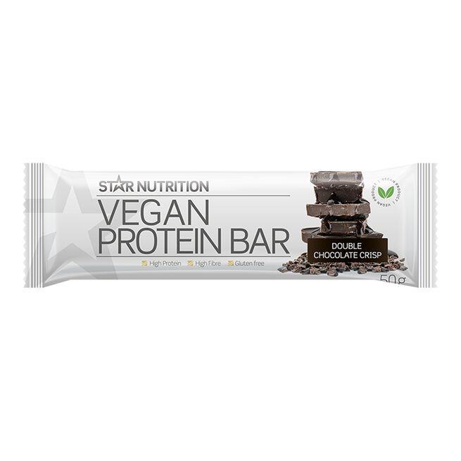 Vegan Protein bar, 50 g, Double chocolate crisp