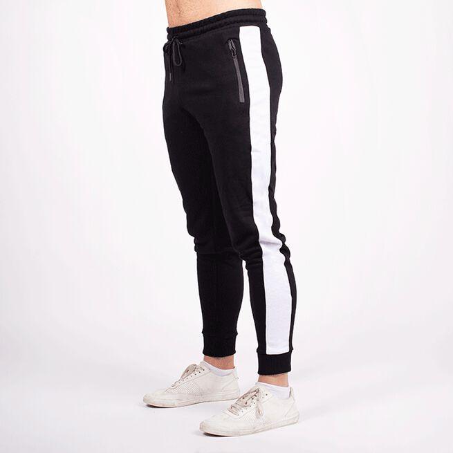 Star Gym Joggers, Black/White, L